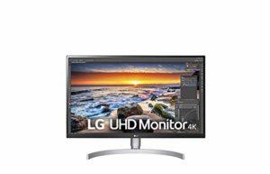 LG 27UK850W écran PC 27» UHD 3840x2160Dalle IPS 5ms (350CdsRGB 99% HDMI 2.0 x 2 DisplayPort 1.2 x 1 USB type C)