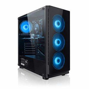 Megaport PC Gamer Intel Core i5-7500 4x 3.4GHz • GeForce GTX 1050Ti • 16Go DDR4 2133 MHz • 1 To • Win 10 • ordinateur de bureau pc gaming pc de bureau ordinateur gamer ordinateur