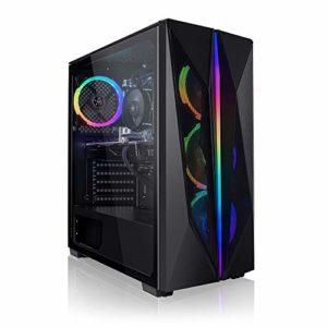 Megaport PC Gamer Sunshot AMD Ryzen 7 2700X 8X 3,70 GHz • nvidia GeForce RTX2060 Super 8Go • 16Go DDR4 • 240 Go SSD • 1To • Windows 10 Home • WiFi • USB3.0 Unité Centrale Ordinateur de Bureau