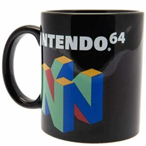 Nintendo MG25219C Mug en céramique 315ml / 11oz-Logo 64