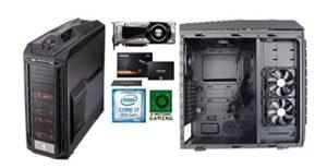 Ordinateur, tour de bureau GAMING PANZER : i7 8700 – GTX 1080 – 16 Go RAM – 250 SSD + 1TO HDD – Gar 3 ans