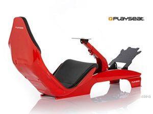Playseat F1 Siège de Simulation en Cuir Noir