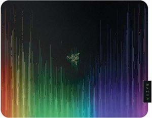 Razer Sphex V2 – Tapis de Souris Gaming Mousepad, Compatible Souris Laser & Optique Laser, Ultra Mince, Finition en Polycarbonate et Nouveau Design Chroma