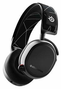 SteelSeries Arctis 9 – Casque gaming double sans fil – Audio sans fil 2,4 GHz sans perte + Bluetooth – Pour PC et PlayStation