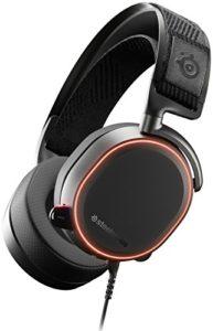 SteelSeries Arctis Pro – Casque Gaming – Pilotes d'enceintes Haute Résolution – DTS Headphone:X v2.0 Surround-Noir