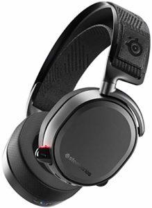 SteelSeries Arctis Pro Wireless – Casque Gaming sans fil – Pilotes d'enceintes haute résolution – Sans fil double (2,4 G & Bluetooth)-Noir