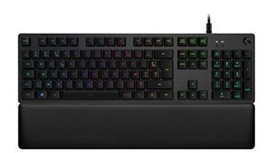Logitech G513 Clavier Gaming Mécanique Rétroéclairé RGB avec Switchs Linéaires Romer-G (Carbone – Layout Français AZERTY)