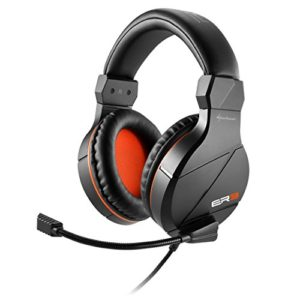 Sharkoon Rush ER3 Gaming – Casque PC Audio Stéréo Gamer Noir