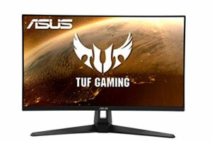 ASUS TUF Gaming VG279Q1A – Ecran PC Gamer eSport 27″ FHD – Dalle IPS – 165Hz – 1ms – 1920×1080 – 250cd/m² – Display Port & 2x HDMI – Haut-parleurs – AMD FreeSync Premium – Extreme Low Motion Blur