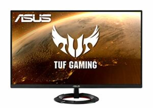 ASUS TUF Gaming VG279Q1R – Ecran PC eSport 27″ FHD – Dalle IPS – 144Hz – 1ms – 1920×1080 – 250cd/m² – Display Port & 2x HDMI – AMD FreeSync Premium – Extreme Low Motion Blur – Haut-parleurs