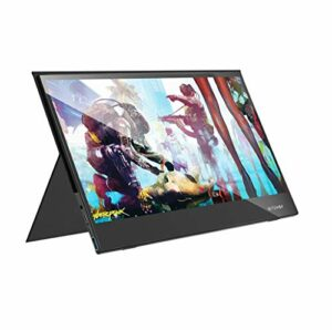 Blitzwolf BW-PCM6 Écran tactile 17,3″ FHD 1080p Type C Portable Gaming Display Ordinateur pour Smartphone Tablette Ordinateur Portable Consoles de jeux