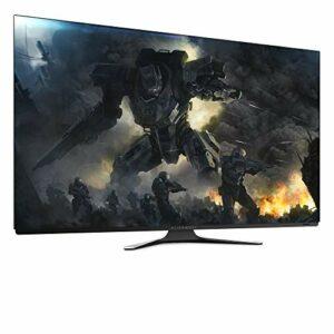 Dell Alienware AW5520QF, Ecran de PC Gaming 54.6″ 4K Ultra HD OLED 120 Hz 0,5 ms Lunar Light