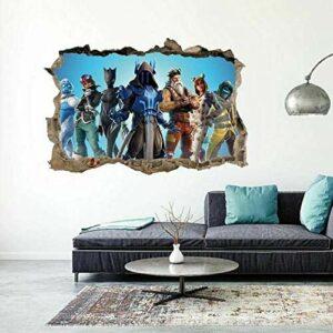 Stickers muraux3D jeu vidéo sticker mural sticker mural art autocollant chambre Gamer chambre décoration