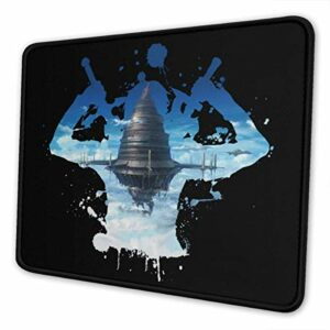 Yuanmeiju 30X25Cm,Anti Slip Gaming Tapis de Souris,Stitched Edge Mousepad,Computer Pc Mousemat,Mice Pad for Office Home,Rubber Base,Sao Sword Art Online Kirito