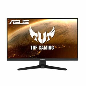 ASUS TUF Gaming VG249Q1A – Ecran PC Gamer eSport 23,8″ FHD – Dalle IPS – 165Hz – 1ms – 16:9 – 1920×1080 – Display Port et 2x HDMI – Haut-parleurs – AMD FreeSync Premium – ELMB – Shadow Boost