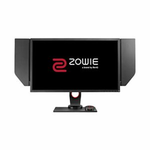 BenQ Zowie XL2746S Ecran gaming de 27 pouces, 240 Hz, FHD 0.5~1 ms, Dynamic Accuracy Plus, Black Equalizer, S-Switch, Shield, Base réglable en hauteur