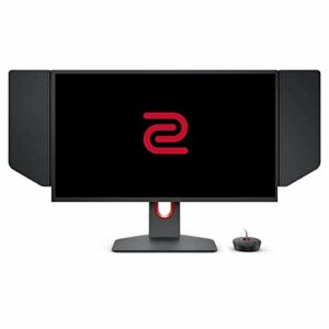 BenQ ZOWIE XL2546K Ecran gaming de 24,5 pouces, 240 Hz, FHD, DyAc+, petite base, Réglage flexible de la hauteur et de l'inclinaison, XL Setting to Share, S-Switch, Shield