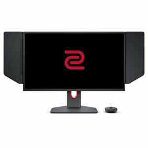 BenQ ZOWIEXL2546K Ecran gaming de 24,5pouces, 240Hz, FHD, DyAc+, petite base, Réglage flexible de la hauteur et de l'inclinaison, XL Setting to Share, S-Switch, Shield