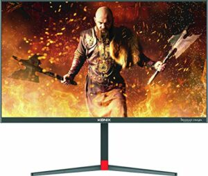 Konix Drakkar Freyia – Ecran Gaming 24″ – 165 Hz – 1 ms – Dalle IPS – Display Port et HDMI, Freesync – Borderless – Compatible VESA 75 – Pied réglable en Hauteur