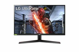LG Electronics Ultragear 27GN800-B 27″ Moniteur Gaming – QHD 2560 x 1440, IPS 1ms 144 Hz, HDR 10, sRGB 99% (NVIDIA Gsync, AMD FreeSync Premium, Mode DAS, Black Stabilizer, Crosshair)