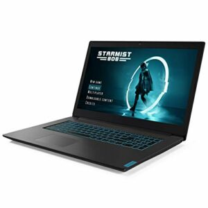 Lenovo IdeaPad L340-17IRH Ordinateur Portable Gaming 17.3» Full HD Noir (Intel Core i5, RAM 8Go, SSD 512Go, NVIDIA GeForce GTX 1650, Windows 10) – Clavier AZERTY (français)