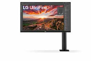 LG UltraFine 27UN880-B 27″ Moniteur 4K – UHD 4K 3840×2160, IPS 5ms 60Hz, HDR 400, sRGB 99% (Pied ergonomique réglable : Extension, Rotation, Hauteur, Inclinaison, Pivot. Fonctionnalités gaming)