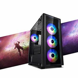 MAK CATASTROPHE PLUS PC Gaming RYZEN 3 3100 3,90 GHz, Gtx 1650 4 Go Strix, SSD Nvme 250 Go + HDD 2 To, RAM 16 Go (2 x 8) 3200 MHz, ordinateur de gaming DESKTOP, WINDOWS 10 PRO