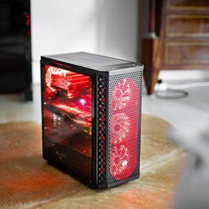 32 Go de RAM – RX 580 8 Go – 6/12 x 4,3 GHz – SSD 240 Go + disque dur 1000 Go – Wi-Fi – OCTANE Gaming PC *Couleur d'éclairage au choix