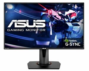 ASUS VG278QR – Ecran PC gaming eSport 27″ FHD – Dalle TN – 16:9 – 165Hz – 0,5ms – 1920×1080 – 400cd/m² – Display Port, HDMI et DVI – Haut-parleurs – Nvidia G-Sync – AMD FreeSync