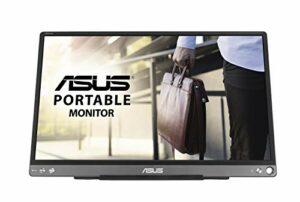 ASUS Zenscreen MB16ACE – Ecran PC portable 15.6″ FHD – Télétravail ou gaming – Alimentation et affichage via USB-C ou USB-A – Dalle IPS – 1920×1080 – 220cd/m² – Flicker Free