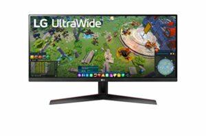 LG UltraWide 34WP65G-B 34″ Moniteur ultra large – UWFHD 2560×1080, IPS 5ms (GtG)/1ms (MBR) 75Hz, HDR 400, sRGB 99% (Fonctionnalités Gaming: AMD FreeSync, MBR, Mode DAS, Black Stabilizer, Crosshair)