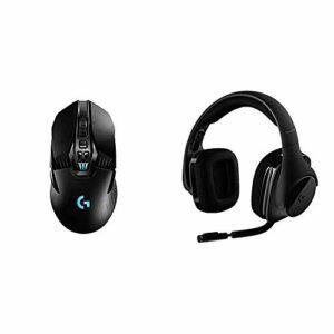 Logitech G903 Lightspeed Souris Gamer sans Fil, 16000 PPP, RVB Gaming, Noire & G533 Casque Gamer sans Fil, Son Surround 7.1 DTS Headphone:X Audio Positionnel 3D, Transducteurs Pro-G 40 mm