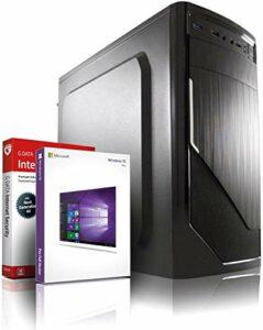 PC Gamer 10-Core (4C+6G) A10 9700 3.80 GHz – 6-Core Radeon R7 DX12 4Go – 16Go DDR4-500Go SSD – DVD±RW – Windows 10 – WiFi – USB3.0 Unité Centrale Ordinateur de Bureau PC Gaming #6697