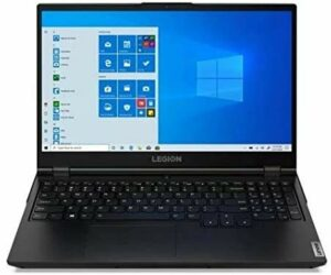 Lenovo Legion 5 – Ordinateur portable Gaming 15.6″ FullHD (Intel Core i7-10750H, 16 Go RAM, 1 To SSD, GeForce GTX 1660Ti 6 Go, sans système O.) Noir.