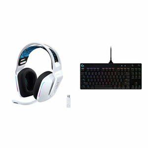 Logitech G733 K/DA Casque Gaming sans Fil Lightspeed + Clavier Gaming mécanique Pro