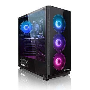 Megaport PC Gamer Frontier Intel Core i7-10700F 8X 2,90 GHz • Nvidia GeForce GTX1660 6Go • 480Go SSD • 16Go DDR4 • 1To • Windows 10 • WiFi Unité Centrale Ordinateur de Bureau PC Gaming