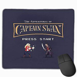 NA Captain Swan Le Jeu vidéo Bord Cousu Ordinateur Portable de Jeu Tapis de Souris Ordinateur Tapis de Souris