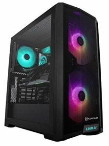 PCSpecialist Pro PC Gamer – AMD Ryzen 7 3700X 4,40 GHz 8-Core, 16 Go RAM, GEFORCE RTX 3060 12 Go, 1 to M.2 SSD