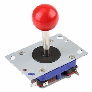 Arcade Game Jeu vidéo 2 & 4 & 8 Directions Manette Joystick Controller avec Boule Rouge pour Arcade Game.