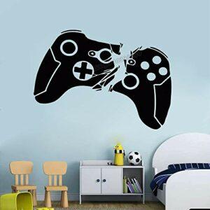 Autocollant mural en vinyle pour manette de jeu vidéo 70 x 42 cm