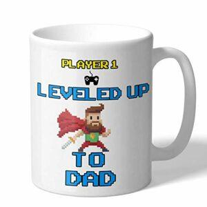 Cadeau pour les nouveaux papas – Mug à café fantaisie – Jeu vidéo – Cadeau pour papa