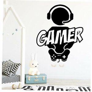Casecover Jeu Vidéo Gamer Gaming Sticker Mural Art Décor Sticker Vinyl Gamer Decal par des Murs Design Personnalisé