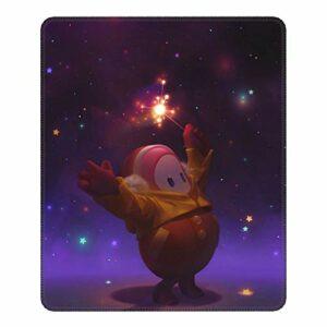 FA-ll Gu-ys Star Tapis de souris de jeu avec bords cousus et base en caoutchouc antidérapant pour ordinateur de gamer, ordinateur portable, bureau 20,1 x 24,1 cm