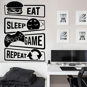 Mangez le jeu de sommeil répéter Gamer Stickers muraux Battlestation Jeux Vinyle Gaming Sticker Décor Cadeau Autocollants De Jeu B331