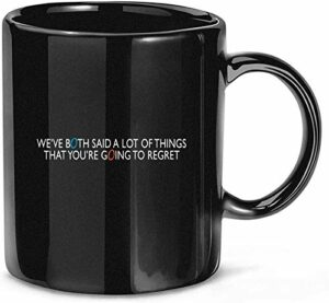 NA Portal 2 Glados Quote Video Gaming Tasses à café en céramique drôles 11 oz