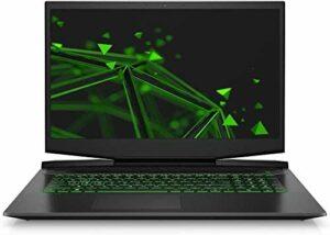 Laptop Pavilion 17-CD CORE i7-10750H Mémoire RAM DDR4 32 Go SSD 1000 Go + disque dur 1000 Go Windows 10 Écran Full HD Mat CAO Gaming
