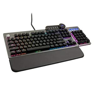 Clavier MOUNTAIN Everest Max Gaming – MX Blue, ANSI, Disposition américaine, Gris