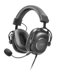 Mars Gaming MH6 Noir, Casque Neographene, Carte Externe 7.1, Microphone Amovible