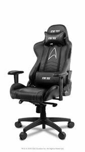 Arozzi Fauteuil Gamer – Star Trek Edition – Noir