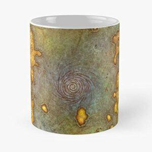 Générique Wow Warcraft of World Gamers Pc Lvl Gaming Trending Map Best 11 Ounce Ceramic Coffee Mug Meilleur Cadeau Tasse à café 11 oz !